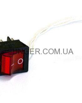Кнопка выключатель для станков Yunger цена